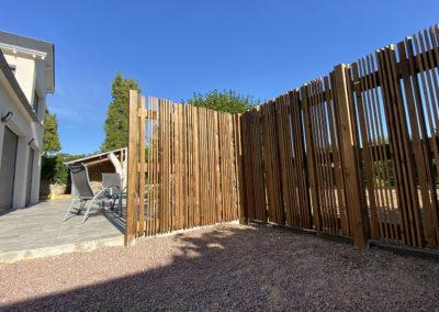 Clôture en bois_woodworks