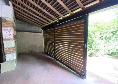 Porte coulissante en bois_woodworks